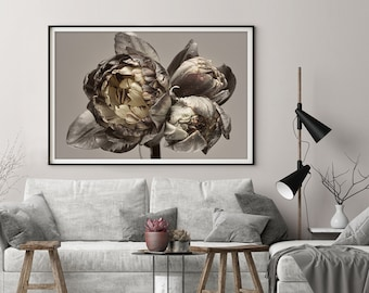 1664 Decor Poster Wall Art Fine Graphic Art Design Classic lady at table