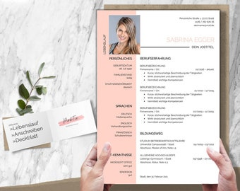 Application template   Cv template   German Layout & Design   Word + Pages