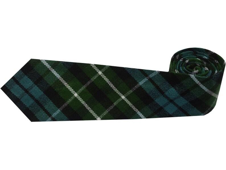 Graham Ancient Kilt Necktie Highland Wear Plaid Tie