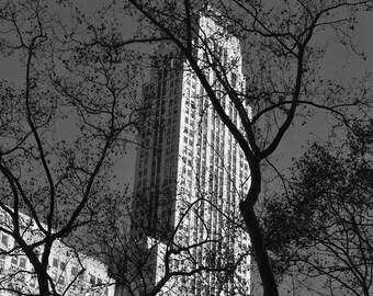 B/W NYC Skyline