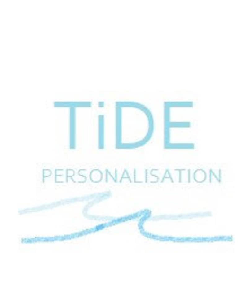 TiDE Personalisation Handmade Initial Personalised Leather Coin Purse