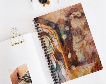 Mary Magdalene Spiral Notebook - Ruled Line | Jesus Notebook | Christian Art | Baptism, Christian Gift, Prayer Notebook | Ascendent Masters