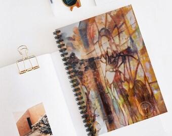 Jesus Spiral Notebook - Ruled Line | Mary Magdalene Notebook | Christian Art | Baptism | Jesus Gift, Prayer Notebook | Ascendent Masters