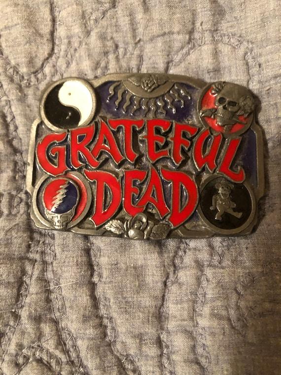 Grateful Dead belt buckle