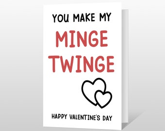 Boris Valentines BJ Rude Cheeky Hilarious Valentines Day Cards For Him Her Boyfriend Girlfriend Husband Wife Partner Funny Valentines Cards Brainbox Candy