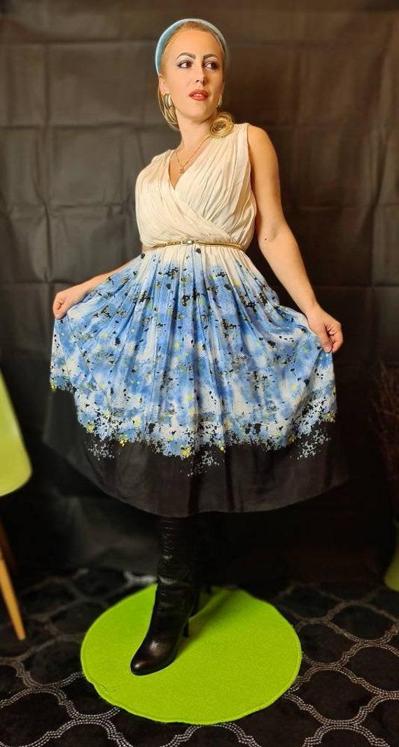Pleated Chiffon Dress RRP 395