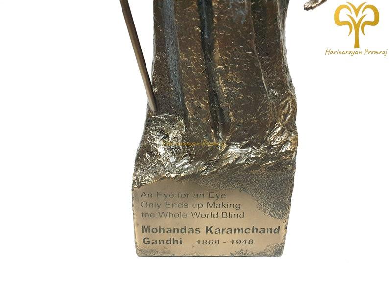Mahatma Gandhi Statue \u2022 11.4 Inch \u2022 Bonded Bronze Statue \u2022 Mohandas Karamchand Gandhi \u2022 Gift