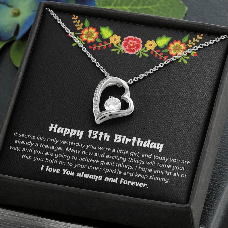 Gift for 13 year Old Daughter Thirteen Birthday Gift Girls
