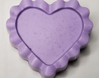 Hand-made Heart Shea Butter Bar Soap