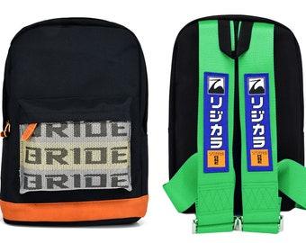 BRAND NEW JDM Bride J/'s Racing Blue Harness Adjustable Shoulder Strap
