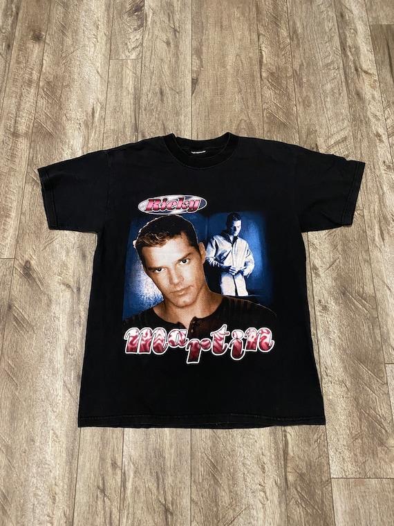 90's Ricky Martin la vida loca rap tee style t-shi