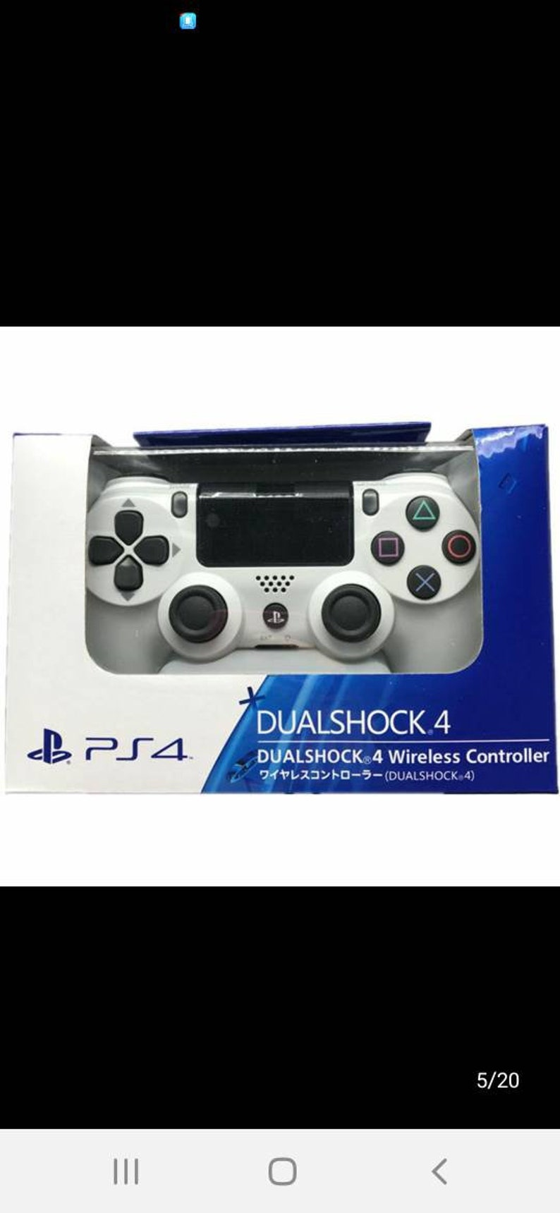 White Ps4 Dual Shock 4 Wireless Controller
