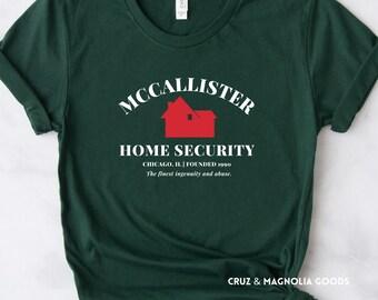 McCallister Home Security Home Alone Shirt, Home Alone Shirt, Home Alone, Kevin McCallister, Christmas Shirt, Holiday Shirt, Movie Shirt