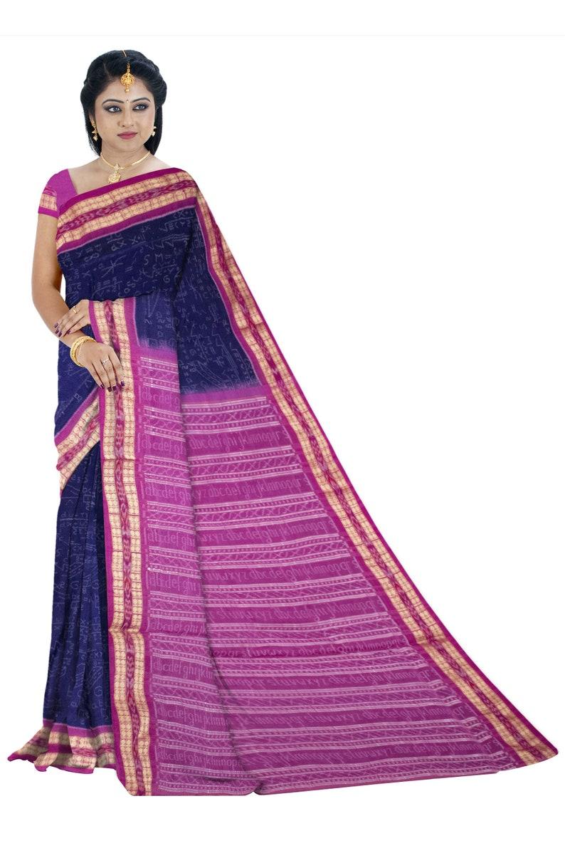 Latest design Sakuntala Mathematics Saree with blouse piece