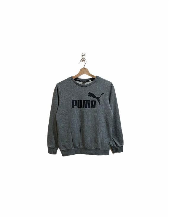 Puma Sweatshirt Crewneck / Spellout / Big Logo / C