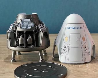 SpaceX Inspiration4 Falcon 9 Crew Dragon  model