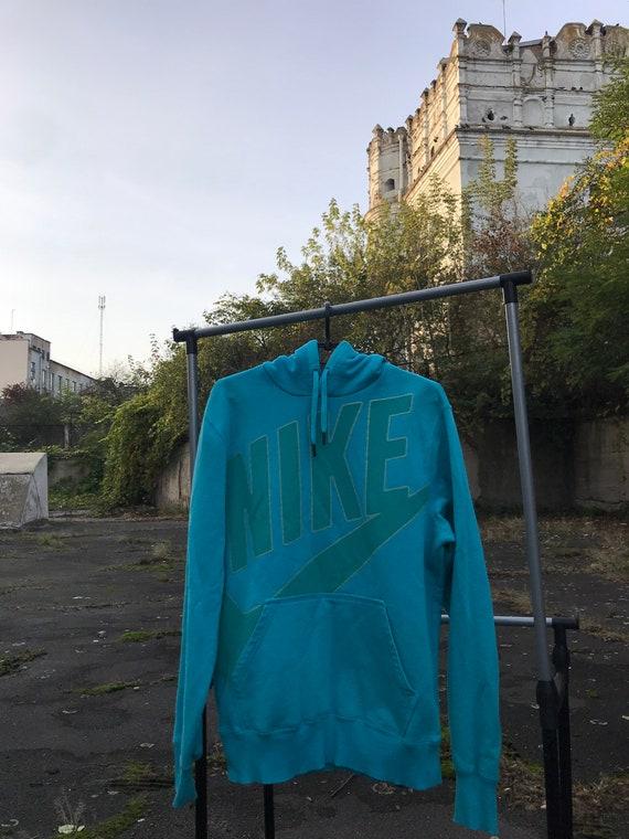 Vintage Nike bid logo hoodie