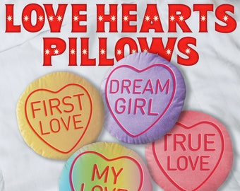 Sweet  Heart  Valentine/'s Day Pillow  Anime Custom  Gift