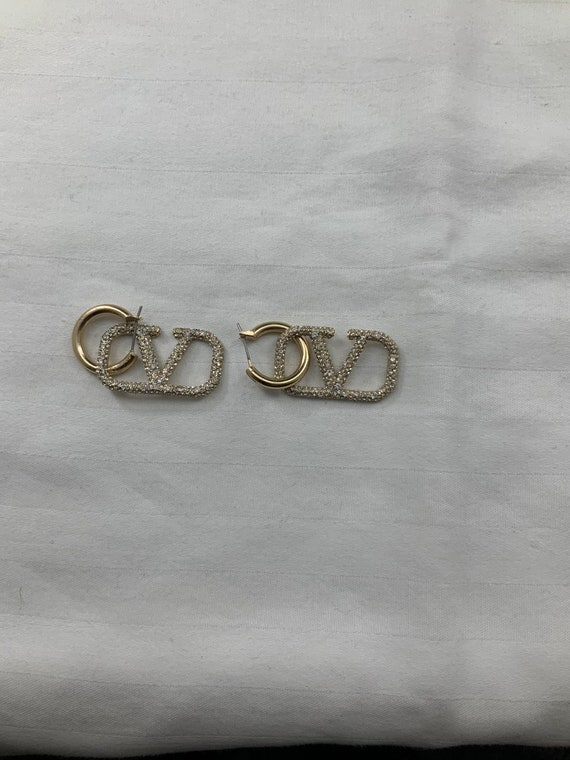 Vintage Valentino sparkly earrings