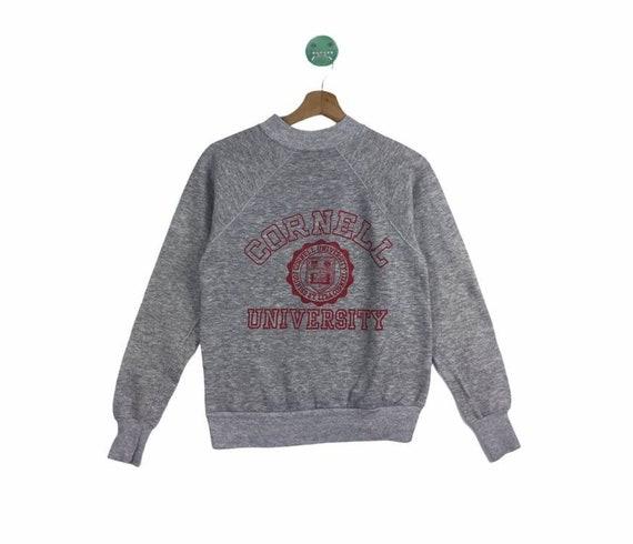 VINTAGE!! Cornell University spellout Sweatshirts