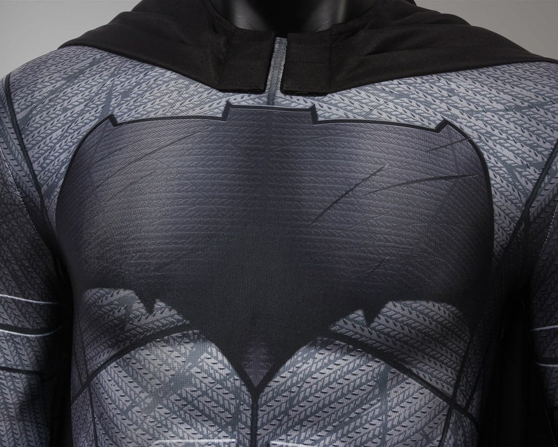 Batman Costume Cosplay Suit Bruce Wayne Justice League 3D Printed Adult Outfit