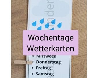 PDF: Wetter und Wochentage