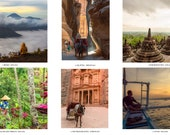 Travel photos: Indonesia & Jordan. Landscape, travel, portrait photography from dawn to sunset. High quality prints and wall decor
