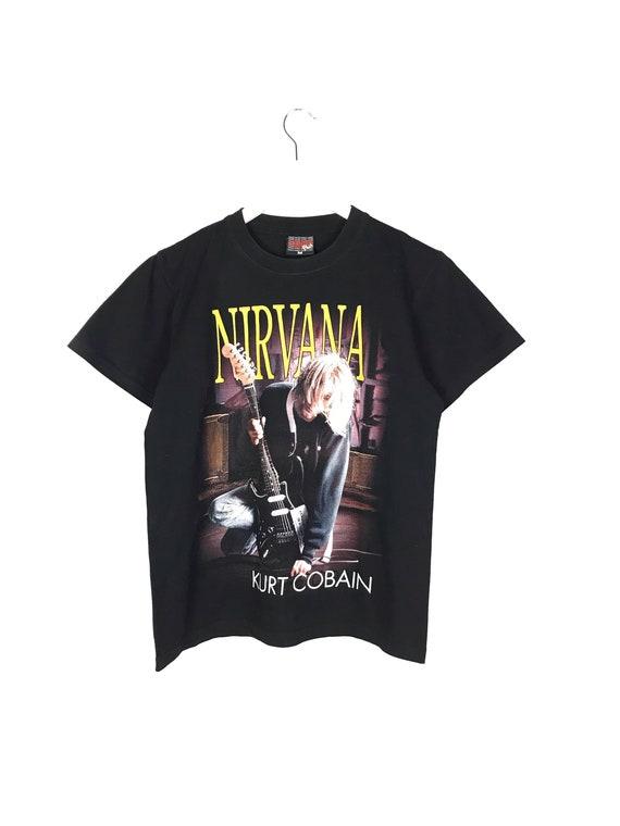 VINTAGE Rare Nirvana THUNDER PLUS T-Shirt