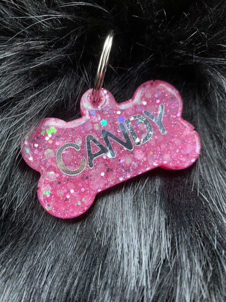 Handmade Resin Dog Tags