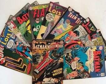 VINTAGE, 60's Era Comic Book PAGES 100% Authentic