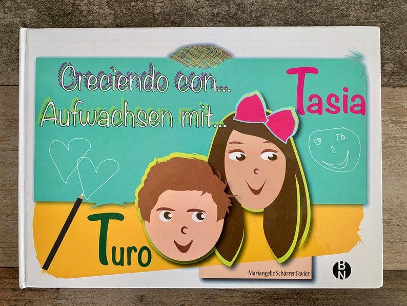 Children's didactic book written in German and Spanish image 0