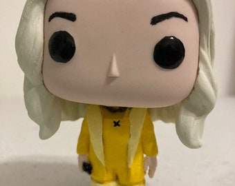 Custom Funko Pops Of Billie Eilish By Eilishpops On Etsy