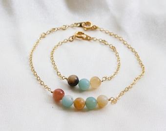 Mommy and Me Matching Bracelets | Anklet | Mother and Daughter Bracelet | Baby Bracelet | Baby Girl | Birthday Gift | Toddler Bracelet