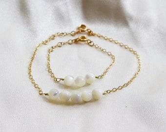 Keepsake Mommy and Me Matching Bracelets | Personalized | Grandma | Mother Daughter Bracelet | Baby Bracelet | Gift for Mother