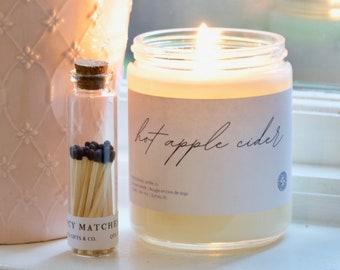 Match Jar | Long Matches | Personalized Matches | Match Sticks | Matchbox | Corked Jar With Matches | Candle | Wedding | Gift | Glass Jar