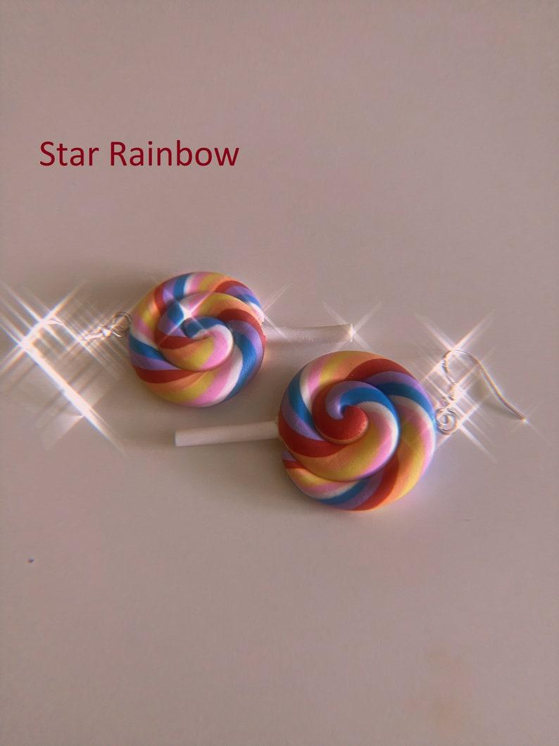 Lollipop earrings