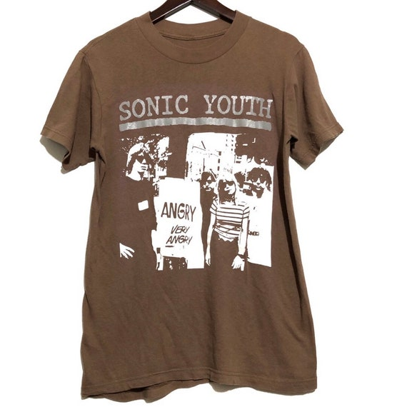 Vintage Sonic Youth Angry Very Angry Tee