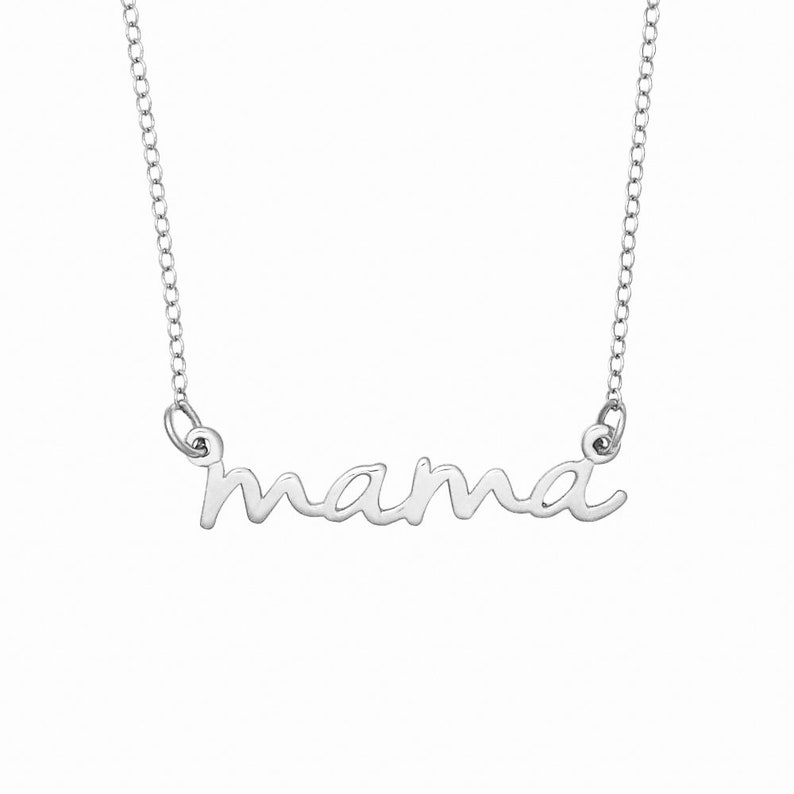 Silver Name Necklace Personalized Name Necklace Custom Name Necklace Personalized Valentines Days Name Necklaces For Women