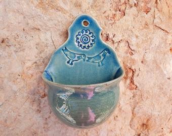Salt barrels, sugar pots, jar for salt, kitchen assistant turquoise