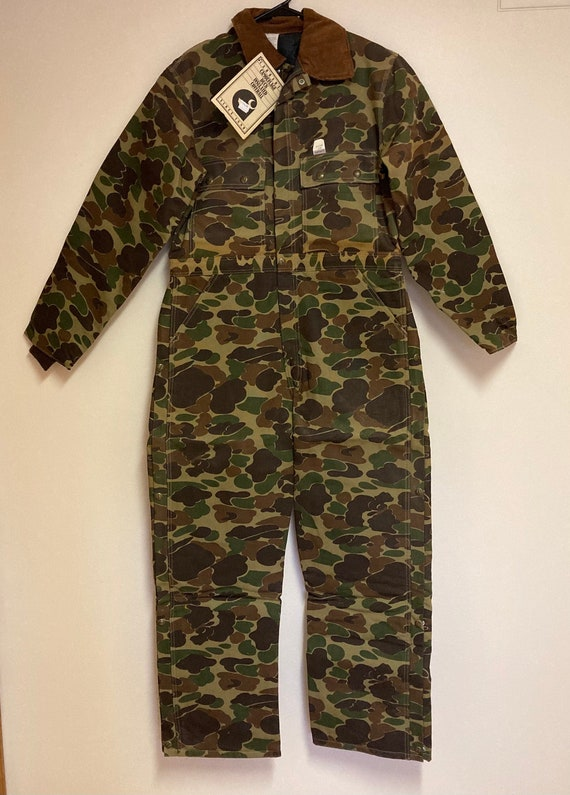 Vintage Carhartt Camo Insulated Coverall (38R)