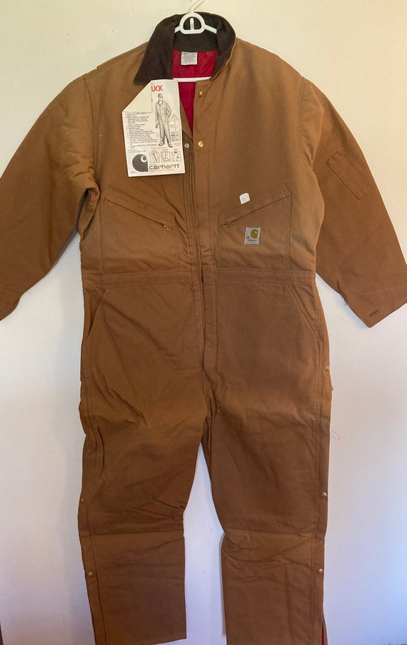 Vintage Carhartt Insulated Coverall USA
