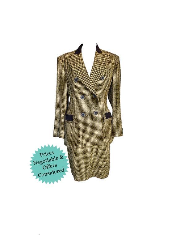 Women's Vintage 80's Mondi 2 Piece Jacket and Skir