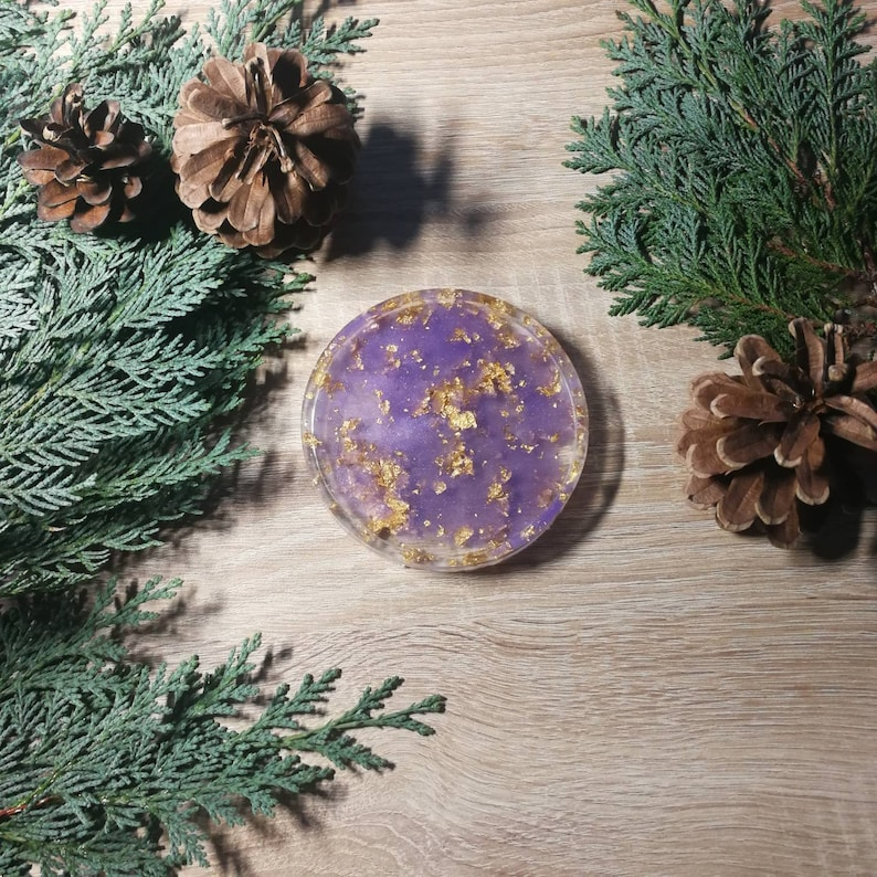 Resin coaster different styles