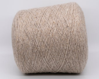 100% cashmere 1/3NM yarn on cone for knitting crochet machines per 100g