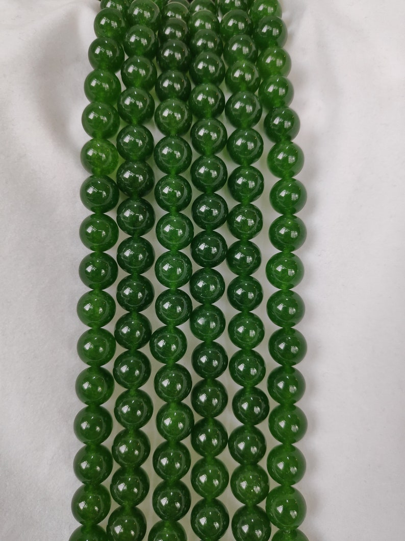 8mm Dark Forest Green Agate Round Beads For Jewellery Making Dark Green Chalcedony UK,4mm 6mm 10mm,15