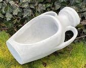 Large amphora statue, amphora vase, Large planter statue, CEMENT FLOWER POT Concrete Vessel, Concrete Planter, Flower Pot, Garden Amphora