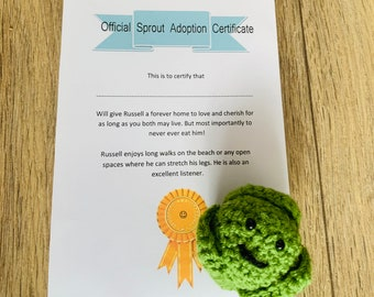 Adopt a sprout! Perfect fun present