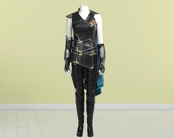 Thor Ragnarok Valkyrie Costume Cosplay Suit Women Outfit