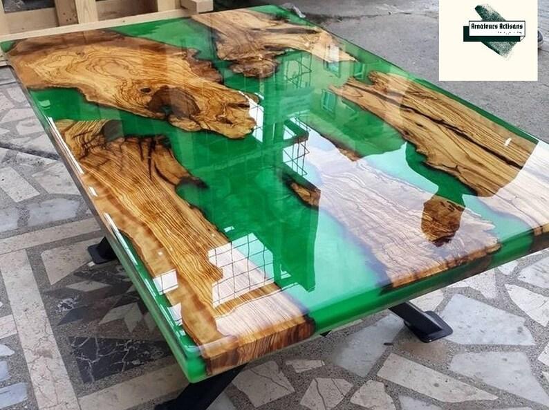 Wooden countertop Kitchen Countertops Epoxy countertop