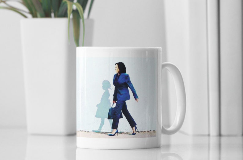 Kamala Harris Coffee Mug Artistic Mug Girlfriend Gift image 0